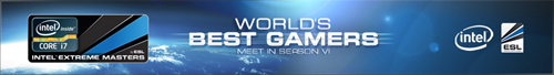 『Intel Extreme Masters Season VI』予選 Counter-Strike1.6 部門の最終ランキング発表