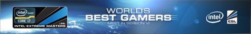『Intel Extreme Masters Season 6』のポイントランキング発表