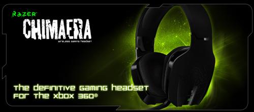 『Razer』 が Xbox 360、PC 対応のワイヤレスゲーミングヘッドセット『Razer Chimaera Wireless Gaming Headset』を 7 月 29 日(木) より国内販売開始