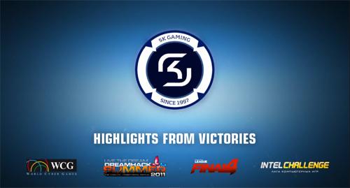 ムービー『2011 highlights: SK Gaming - Presented by SteelSeries』