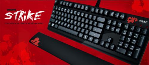 Cherry 社の黒軸を採用した Ozone Gaming のゲーミングキーボード『Ozone Strike』が 10 月 14 日(金)に 12,800 円で国内販売開始