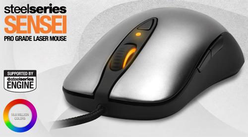 ゲーミングマウス『SteelSeries Sensei』が 10 月 28 日(金)より 11,800 円で国内販売開始