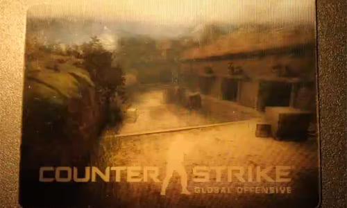 『Counter-Strike: Global Offensive(CS:GO)』βキーカードの動画