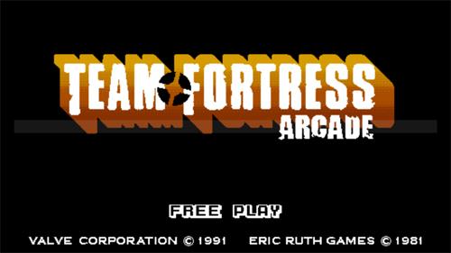 『Team Fortres 2』の 90 年代アーケードゲーム風の逆リメイク『Team Fortress Arcade』がリリース