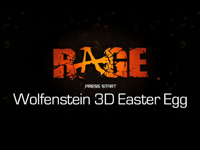 『RAGE』にて『Wolfenstein 3D』風のイースターエッグが見つかる