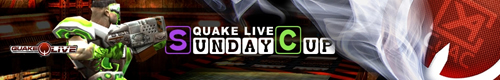 『Quake Live Sunday Cup #12』が 3 月 4 日(日)に開催