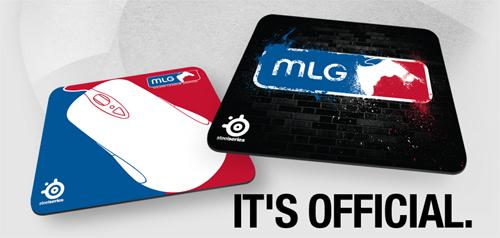 SteelSeries が世界最大のビデオゲームリーグ『Major League Gaming』モデルのゲーミングマウスパッドを発表