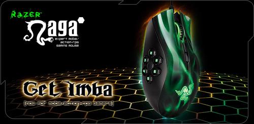 アクション RTS 向けのゲーミングマウス『Razer Naga Hex』が 4 月 27 日(金)より 7,980 円で国内販売開始
