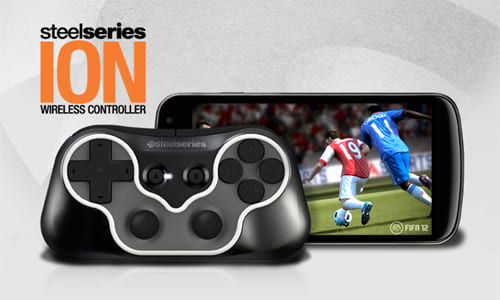 『SteelSeries』が PC、スマートフォン、タブレット等で利用可能なワイヤレスゲームコントローラー『SteelSeries Ion』を発表