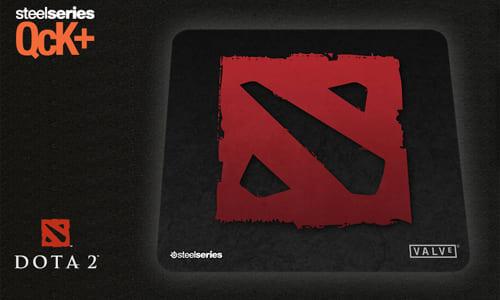 ゲーミングマウスパッド『SteelSeries QcK』の DOTA2 エディション、プロゲームチーム Ehome エディションの国内販売開始