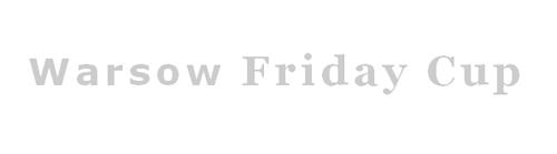 『Warsow Friday Cup #5』が 4 月 20 日 (金) に開催