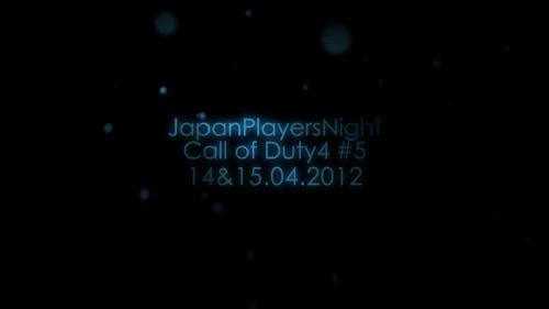 ムービー『Japan Players Night Call of Duty 4 #5 Promotion Video by EXTE/R』