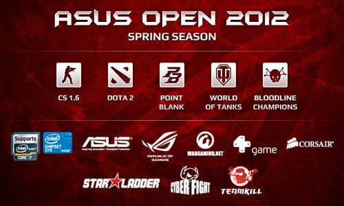 『ASUS Open 2012』 Spring Season の開催情報発表