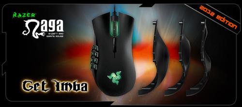 ゲーミングマウス『Razer Naga 2012』が 6 月 22日(金)より国内販売開始、サイドパネル形状を 3 種類から選択可能に