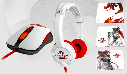 SteelSeries が『Guild Wars 2』モデルのゲーミングマウス、ゲーミングマウスパッド、ゲーミングヘッドセットを発表