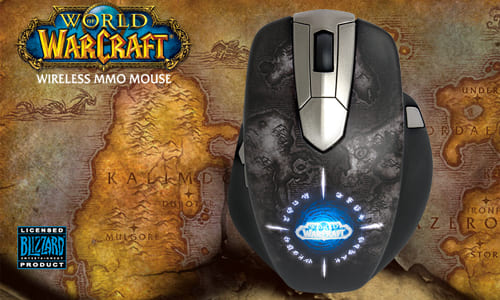SteelSeries が MMO RPG 向けの有線・無線切り替え型ゲーミングマウス『World of Warcraft Wireless MMO Gaming Mouse』を発表