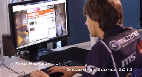 ムービー『Dreamhack Summer 2012 Quake Live highlights』