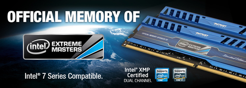 『Patriot Memory』が『Intel Extreme Masters』の公式メモリ『Viper 3 Intel Extreme Masters Memory Limited Edition』を発表
