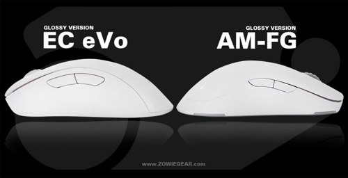 『ZOWIE GEAR』がゲーミングマウス『EC1 eVo』『EC2 eVo』『AM-FG』のホワイトモデルを発表