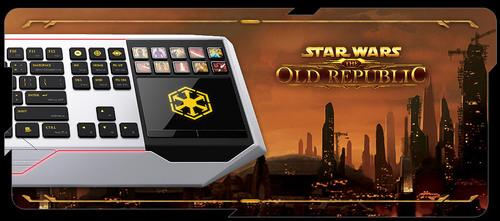 ゲーミングキーボード『Star Wars: The Old Republic Gaming Keyboard by Razer』が 8 月 3 日(金)より国内販売開始