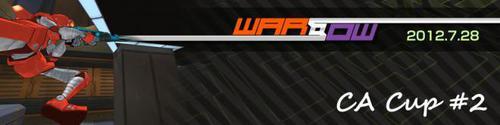 『CyAC Warsow 3on3 CA Cup #2』で MitarashiDan が優勝