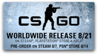 『Counter-Strike: Global Offensive』の Steam 予約購入者向けベータがスタート