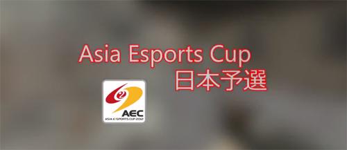 ムービー『Asia e-Sports Cup 2012 日本予選』