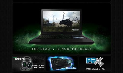 ゲーミングデバイスブランド『Razer』の公式サイトがリニューアル