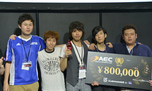 『Asia e-Sports Cup 2012』 Counter-Strike1.6 部門で日本チームの myRevenge が優勝