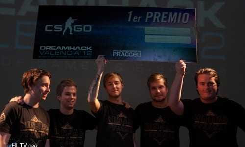 『DreamHack Valencia 2012』 Counter-Strike: Global Offensive で Ninjas in Pyjamas が優勝