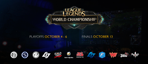 『League of Legends Season Two World Championship』の出場チーム、予選グループ分けが決定