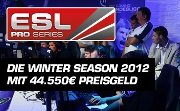 『ESL Pro Series Winter Season 2012』 Counter-Strike: Global Offensive 部門の出場チーム発表