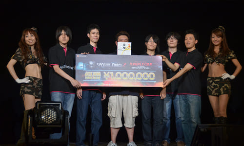 『SPECIAL FORCE 2 SUPER LEAGUE 1st Season Grand Final』で AX-Fivestars が優勝