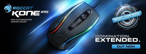 『ROCCAT』が 32 ビットの TURBO CORE V2 PROCESSOR を搭載したゲーミングマウス『ROCCAT Kone XTD』をリリース