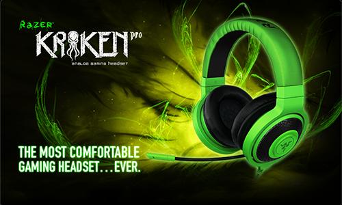 ゲーミングヘッドセット『Razer Kraken Pro Gaming Headset』と『Razer Tiamat 2.2 Gaming Headset』が 11 月 30 日(金)より国内販売開始
