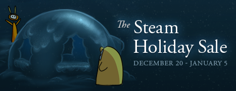 『Steam Holyday Sale』が 2013 年 1 月 5日まで実施