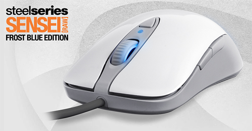 SteelSeries がゲーミングマウス『SteelSeries Sensei [RAW] Frost Blue』を発表