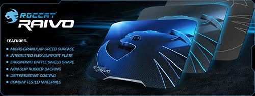 『ROCCAT』がゲーミングマウスパッド『ROCCAT Raivo』シリーズを発表