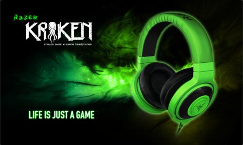 ゲーミング&ミュージックヘッドフォン『Razer Kraken』とゲーミングヘッドセット『Razer Carcharias for Xbox 360 / PC』が2/8(金)に国内販売開始