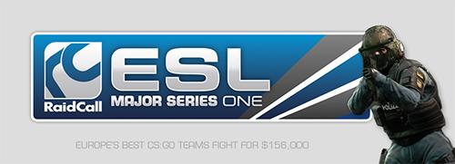 『RaidCall ESL Major Series One』決勝トーナメントが 4/13(土)18 時よりスタート