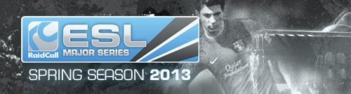 『RaidCall ESL Major Series Spring Season 2013』の開催情報発表