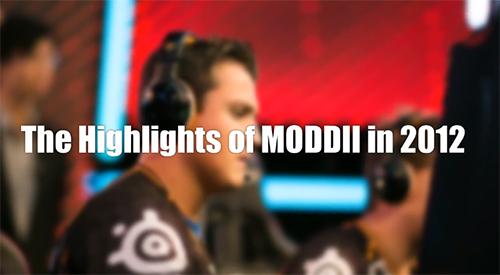 ムービー『The Highlights of MODDII in 2012』