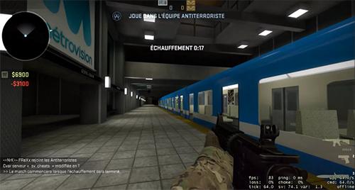 『Counter-Strike: Global Offensive』でカナダの地下鉄を再現したマップのクリエイターが開発停止を言い渡される
