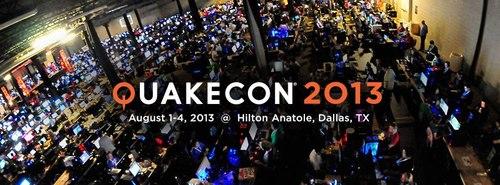 『QuakeCon 2013』の事前参加登録が4月15日(月)よりスタート