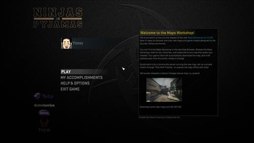 Ninjas in Pyjamas が Counter-Strike: Global Offensive 用のオフィシャル GUI を公開