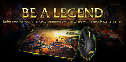 『Razer』が『League of Legends』モデルのゲーミングデバイスやキャラクタースキンが当たる『Be A Legend』キャンペーンを実施中