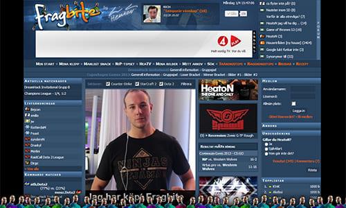 プロゲームチーム Ninjas in Pyjamas のオーナー HeatoN 氏がスウェーデンの有名 eスポーツサイト『Fragbite』を買収