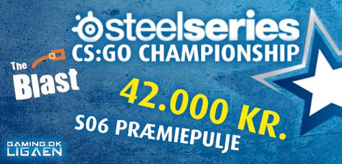 『Gaming.dk League SteelSereis CS:GO Championship』が 4 月 16 日からスタート