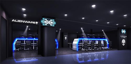 ゲーマーのための専用プレー施設『ALIENWARE ARENA in サイバック博多駅前店』が5月18日(土)に正式オープン
