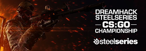 『DreamHack SteelSeries CS:GO Championship』が6/16(日)1時より試合スタート
